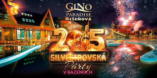 GINO PARADISE Bešeňová - silvestrujte v raji