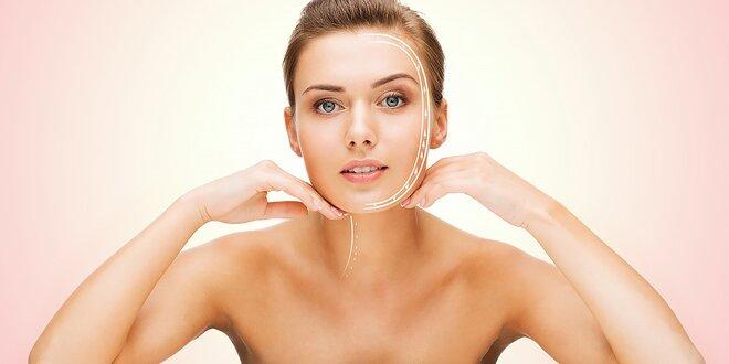 Vákuové ošetrenie tváre, galvanická žehlička a parafín na ruky