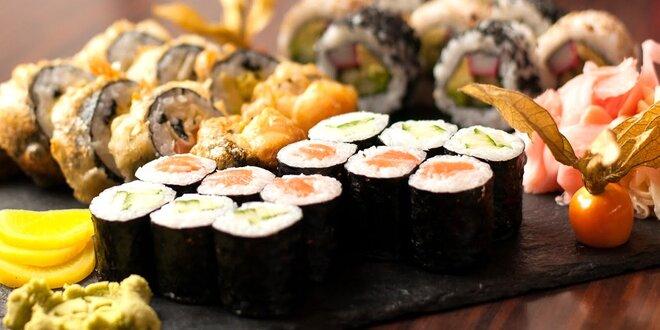 Výborné sushi pre 2 v Osaka sushi bare