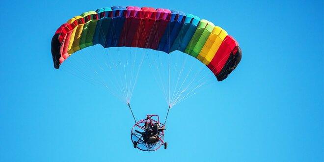 Motorový paragliding tandem - vyhliadkový let Airchopperom okolie Trenčín alebo…