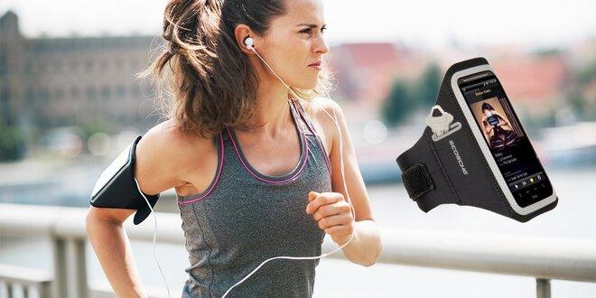 Športový neoprénový obal na rameno pre smart telefóny