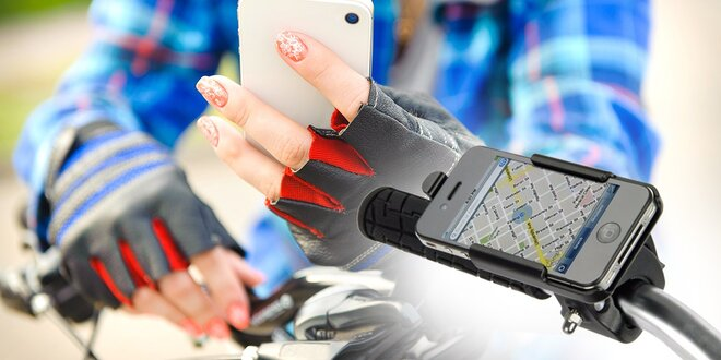 Držiak na iPhone pre bicykle