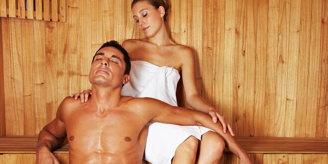 Privátna suchá fínska sauna pre dvoch