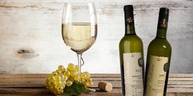 2 alebo 6 fliaš pravého moravského vínka