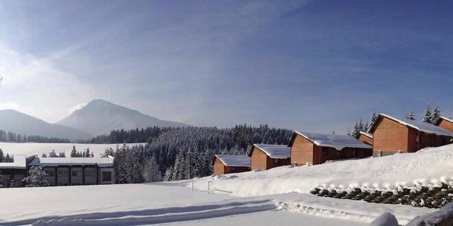 Ski & Wellness dovolenka pre 4 - 6 na Orave