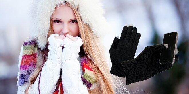 Zimné rukavice na dotykový displej
