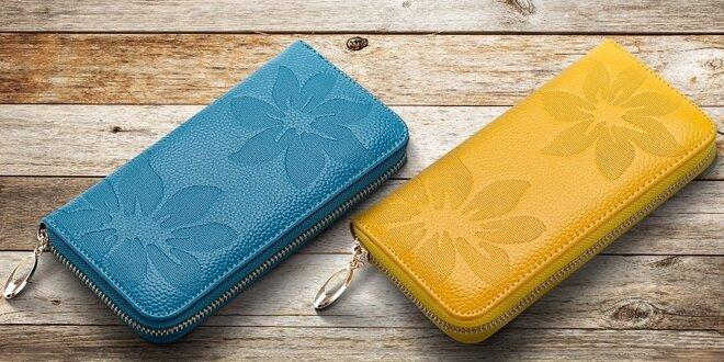 Elegantné dámske peňaženky z pravej kože