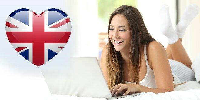 6-mesačná ANGLIČTINA online pre jednu alebo dve osoby
