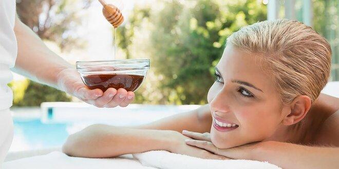Klasická medová masáž či romantický privátny wellness