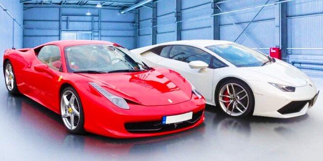 Najnovšie Ferrari a Lamborghini! Tá najlepšia jazda vášho života!