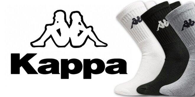 Pánske športové ponožky Kappa (3 páry)