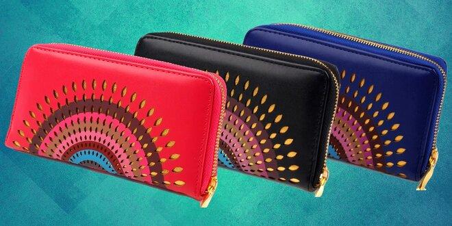 Elegantná a praktická peňaženka
