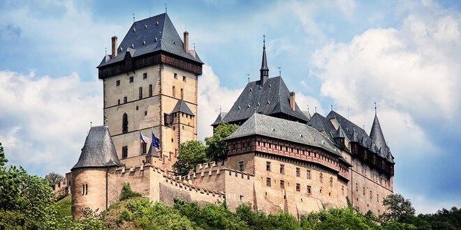 Prekrásny výlet do Prahy a na hrad Karlštejn
