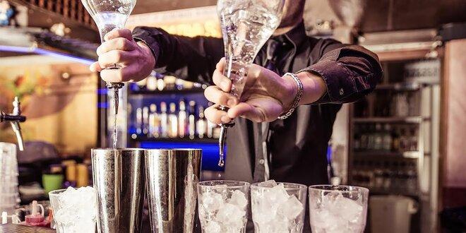 Škola barmana! 3-dňový barmanský kurz LEVEL 1!