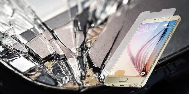Nalepovacie tvrdené sklo na Samsung Galaxy