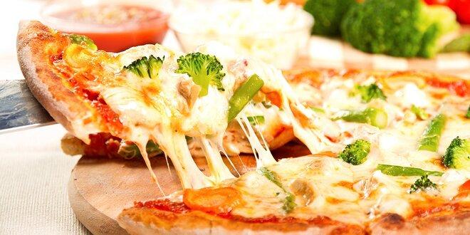 Super pizza podľa vlastného výberu v Tryo pube