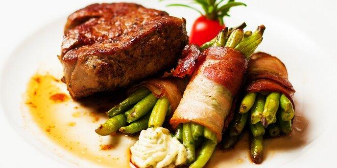 Hovädzie steaky na tri spôsoby v Modrej Hviezde
