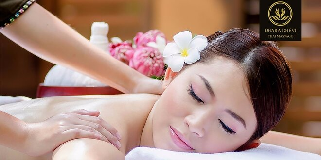 Hodinová luxusná thajská kombinovaná masáž alebo špeciálna masáž chrbta a šije…