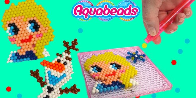 Kreatívna sada koráliek Aqua Beads