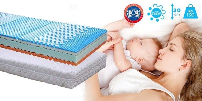 Rodinný matrac Tropico Soft Sleep® Visco