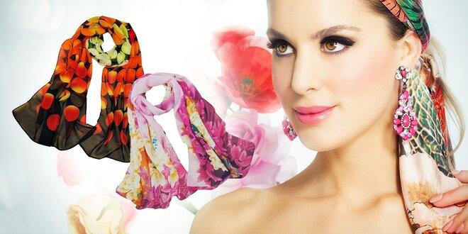 Elegantná dámska šatka - na výber z 5 druhov