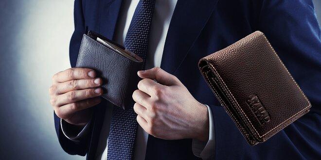 Pánske peňaženky Wild Hunter z pravej kože