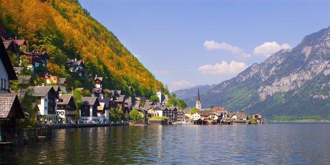 Hallstatt - jar v rakúskych Alpách