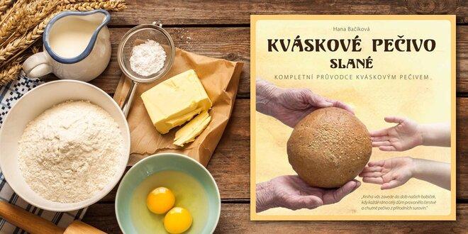 Kniha Kváskové pečivo slané s autogramom spisovateľky