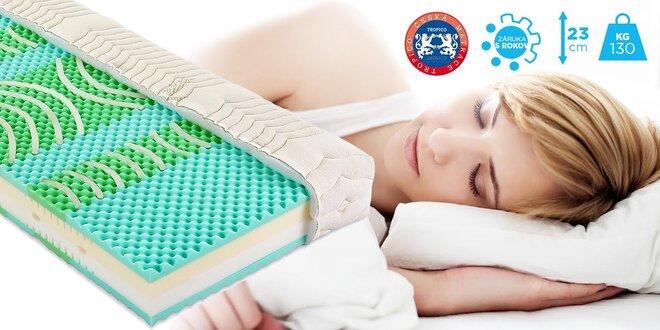 Kvalitné matrace Tropico Geltech® Biogel Medium