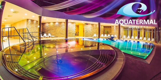 Jarný RELAX v najlepšie hodnotenom hoteli Aquatermal***