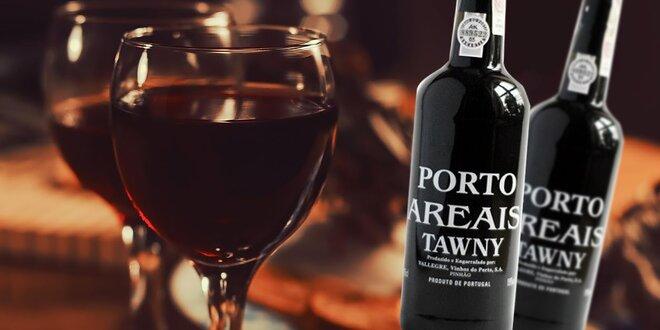 Portské víno Porto Areais Tawny