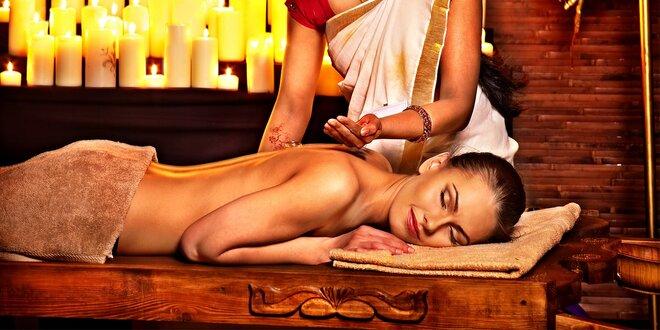Ajurvédske masáže pre dokonalý relax
