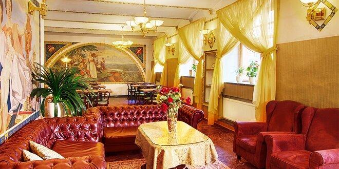 Pobyt s raňajkami pre 2 osoby v Hoteli Taurus**** Praha
