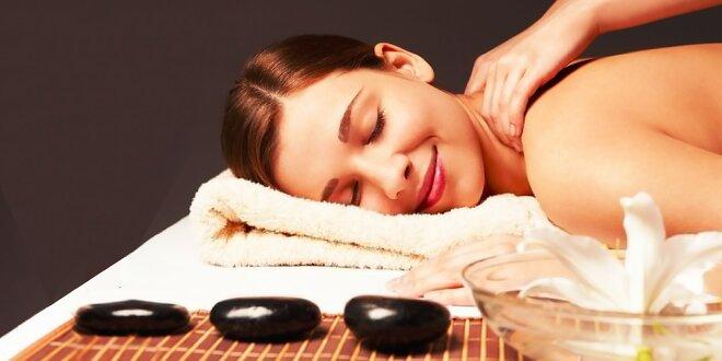 Akupresúrna Shiatsu masáž, klasická masáž alebo masáž lávovými kameňmi