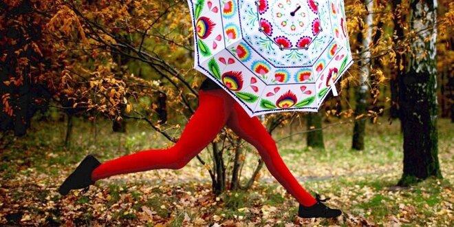 Spievajte a tancujte v daždi s novým dáždnikom!