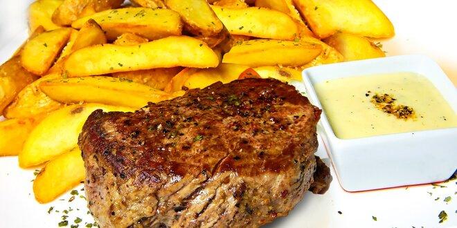 Hovädzí steak zo sviečkovice U Sokola
