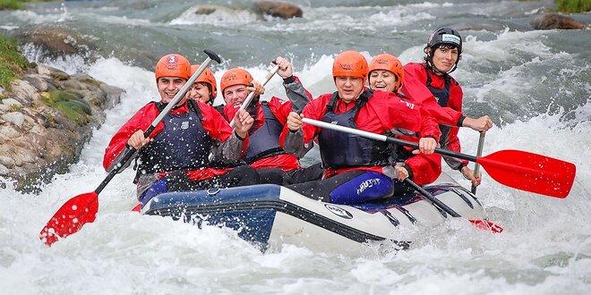 Poriadne adrenalínový splav rieky Belá