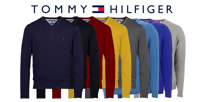 Štýlové pánske svetre Tommy Hilfiger