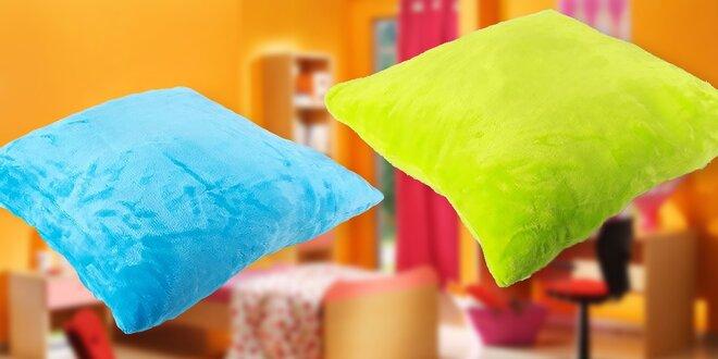 Crazy farebná obliečka na vankúš z mikrovlákna