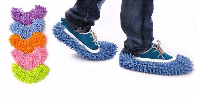 Mop papuče - čisté podlahy aj bez upratovania!