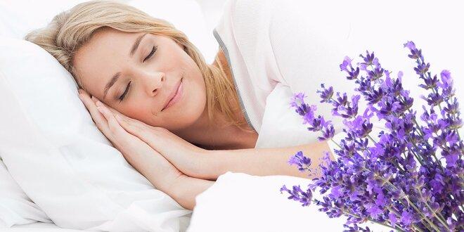 Pokojný spánok s českými lôžkovinami s výťažkom levandule