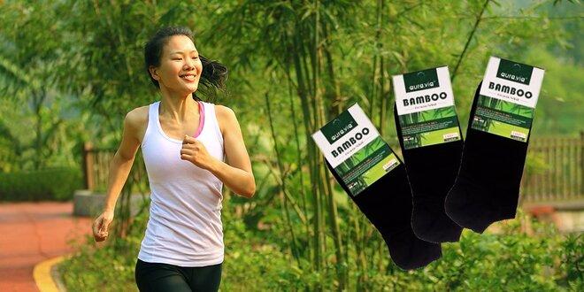 Členkové bambusové ponožky - 5 alebo 10 párov