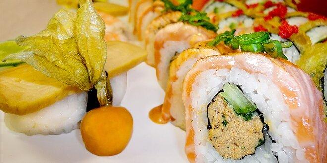 Malý či veľký dračí roll sushi set