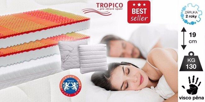 Matrace Tropico Visco Baron s pamäťovou a flexifoam® penou