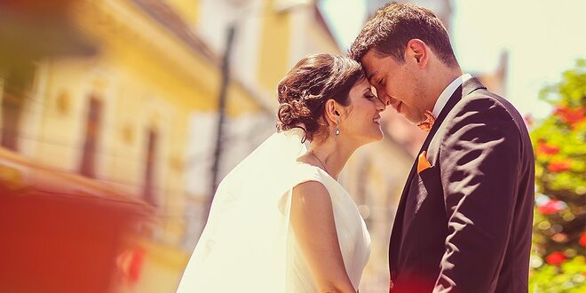 Profesionálne fotografovanie v exteriéri alebo váš svadobný deň