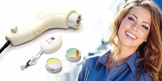Liečivá biolampa s farebnými filtrami