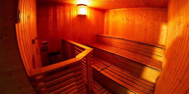 Vstup do sauny pre ženy