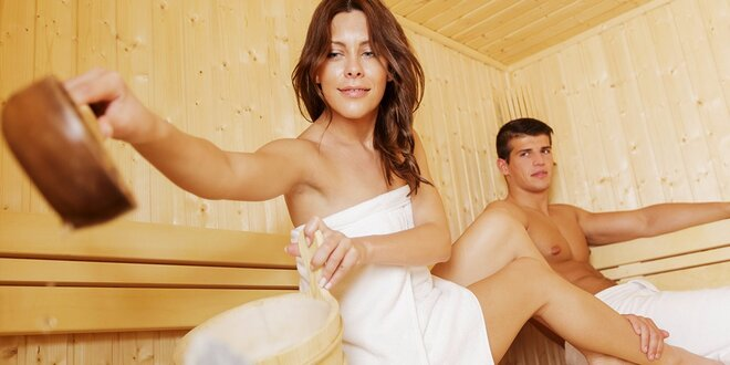 Privátna suchá fínska sauna pre dvoch - aj permanentka!