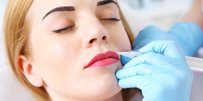 Permanentný make-up obočia, pier či očných liniek