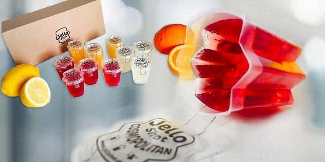 JELLO SHOT - a party môže začať! Vodka box (8 x shot + 2 zdarma)